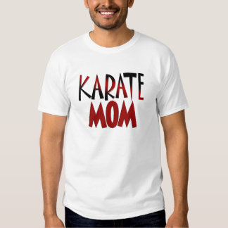 Mamá RDBLK 1,1 del karate Playeras