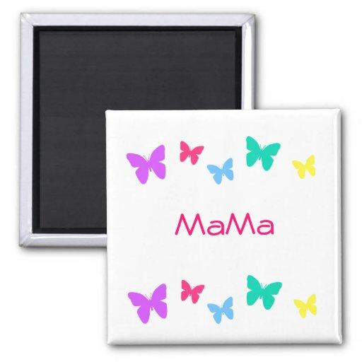 MaMa Refrigerator Magnet
