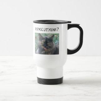 Mama, RESOLUTIONS? Travel Mug