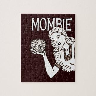 Mamá retra del zombi de Mombie Puzzles Con Fotos
