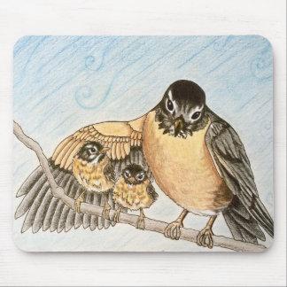 Mama Robin Mouse Pad