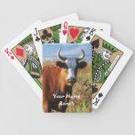 Mamá roja Cow - su rancho conocido occidental Barajas