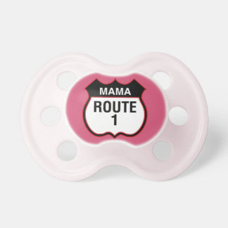 """Mama Route 1"" Pacifier BooginHead Pacifier"