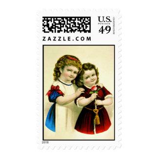 Mama s Darlings Postage Stamp