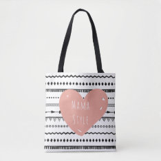 Mama Style Custom All-over-print Tote Bag at Zazzle