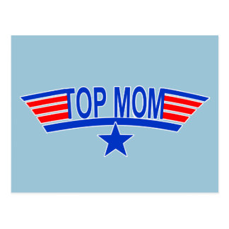 Mamá SUPERIOR de los militares de la MAMÁ Tarjeta Postal