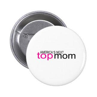 Mamá superior siguiente de Américas Pin Redondo 5 Cm