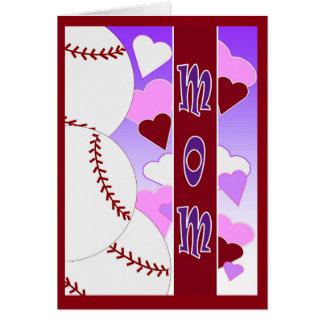 Mamá - tarjeta del día de San Valentín feliz del