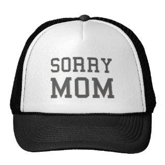 Mamá triste gorro de camionero