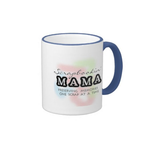 Mamá Tshirts y regalos de Scrapbooking Taza De Café