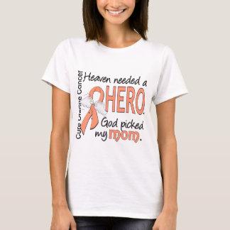 Mamá uterina del cáncer del héroe necesario del playera