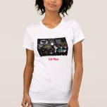 Mamá v.2 del gato camiseta