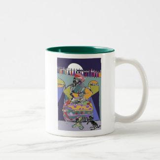 Mama Vieja Two-Tone Coffee Mug