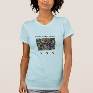 Mamá W. TShirt Artwork de África del cuerpo de paz Camiseta