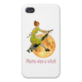 Mama Was a Witch iPhone 4 Covers