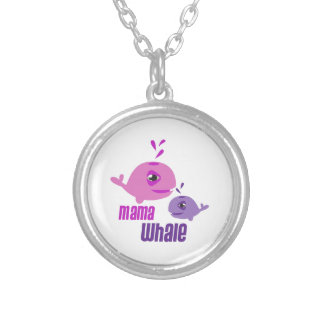 Mama Whale Custom Necklace