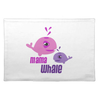 Mama Whale Place Mat