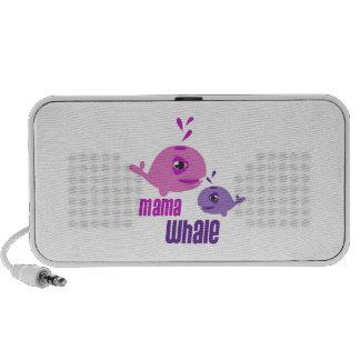 Mama Whale iPhone Speaker