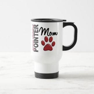 Mamá Wirehaired alemana 2 del indicador Tazas De Café