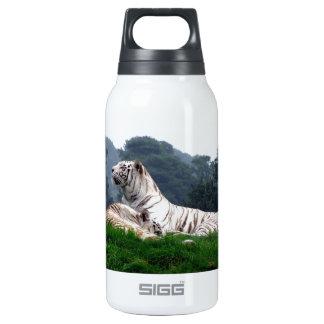Mama y Cub blancos del tigre Botella Isotérmica De Agua