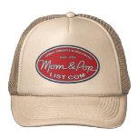 Mamá y logotipo del estallido gorras de camionero