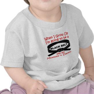 Mamá y papá 1,1 camisetas