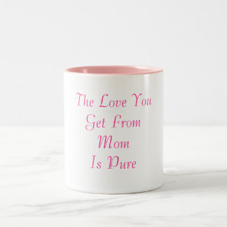 Mamá y su taza del amor