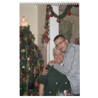 Mamá y Tony Calendarios De Pared