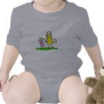 Mamá y yo (rubio sin título) trajes de bebé