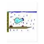 mamae passarinho cartão postal