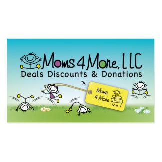 Mamáes 4 más tarjeta de visita 2
