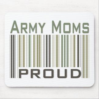 Mamáes del ejército orgullosas alfombrillas de ratones