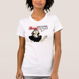 Mamáes elegantes camisetas