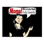 Mamáes elegantes tarjetas postales