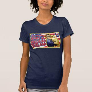 Mamáes estupendas para McCain Palin Camisetas