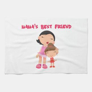 Mamáes mejor amigo toalla de mano
