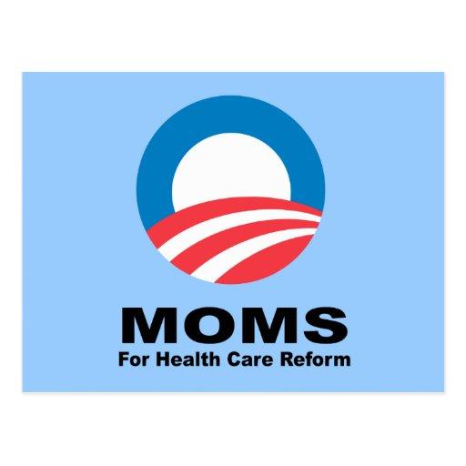 Mamáes para la reforma de la atención sanitaria postal