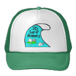 Mamáes Trucker Hat de la resaca Gorras