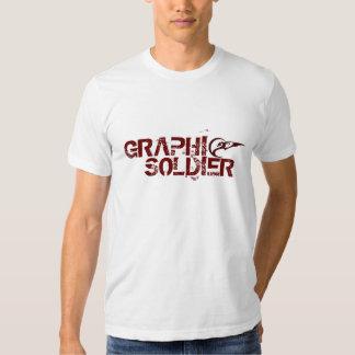 mamajuana red logo copy, GRAPHI, SOLDIER T Shirt
