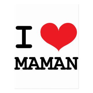 Maman ! postcard