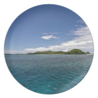Mamanuca Islands, Fiji Dinner Plate