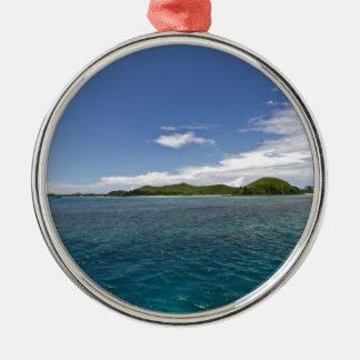 Mamanuca Islands, Fiji Metal Ornament
