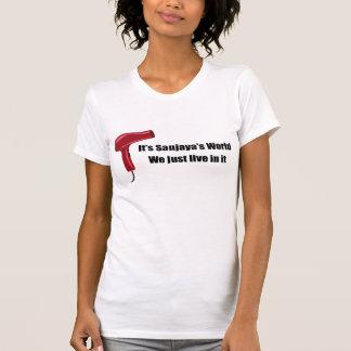 MamaPop.com - Its Sanjaya's World T-Shirt