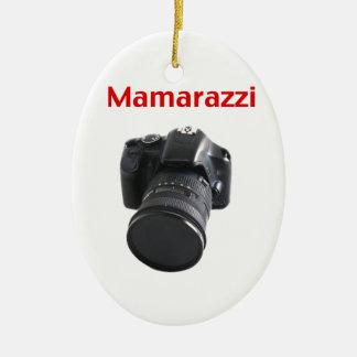 Mamarazzi Photographer Ceramic Ornament