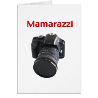 Mamarazzi Photographer Greeting Card