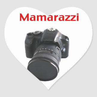 Mamarazzi Photographer Heart Sticker