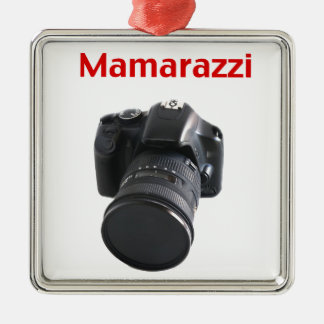 Mamarazzi Photographer Metal Ornament