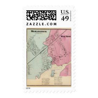 Mamaroneck, Rye Neck Stamp