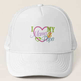 mamas and papas trucker hat