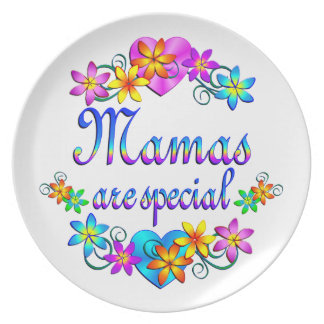 Mamas are Special Dinner Plates